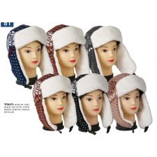 Wholesale Faux Fur Trooper Hats - 1 Doz