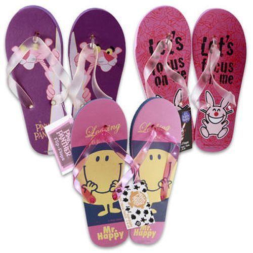 Wholesale Flip Flops - LICENSED Flip Flops - 96 Pairs