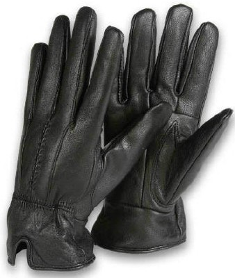 Women's Gloves - Insulated LEATHER Gloves - 1 Pair
