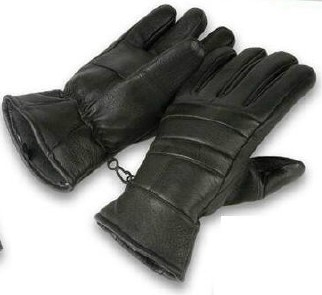 LEATHER Gloves - Menâ??s Insulated LEATHER Gloves