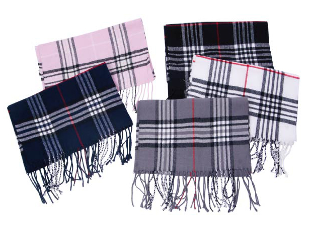 Wholesale Plaid SCARF - Winter SCARF - Shawl - 12 Doz