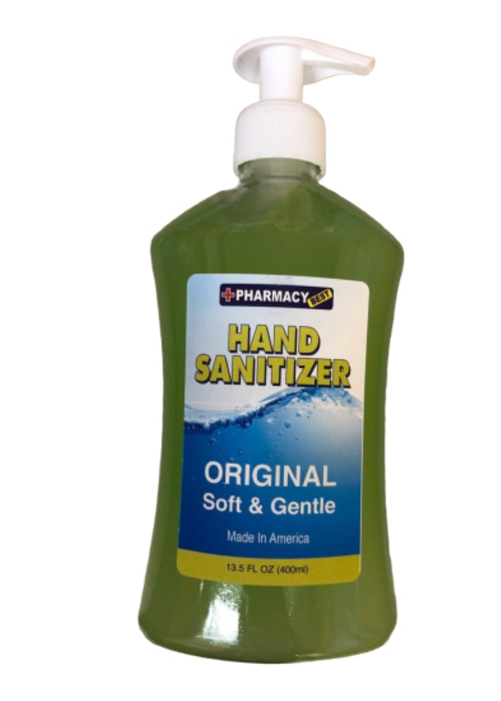 Hand Sanitizer Hand Sanitize SOAP Effectively Kills 99.99% Of Bacteria Virus (400ML) Made IN USA