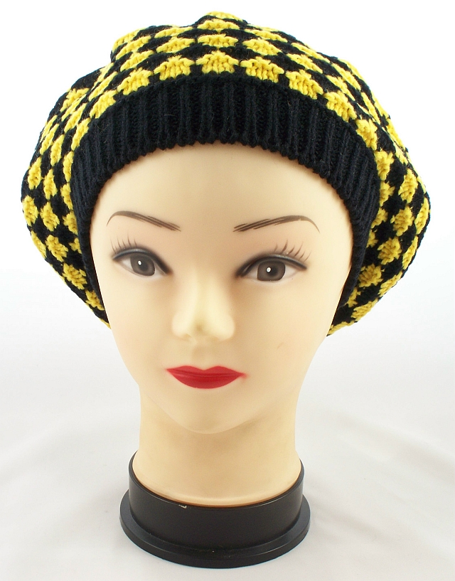 Women's Berets Offer Iconic Style This French import has been a fashion statement for decades. What began as a simple, round, flat wool hat can now be found in a variety of materials, colors, and prints with decorative embellishments.