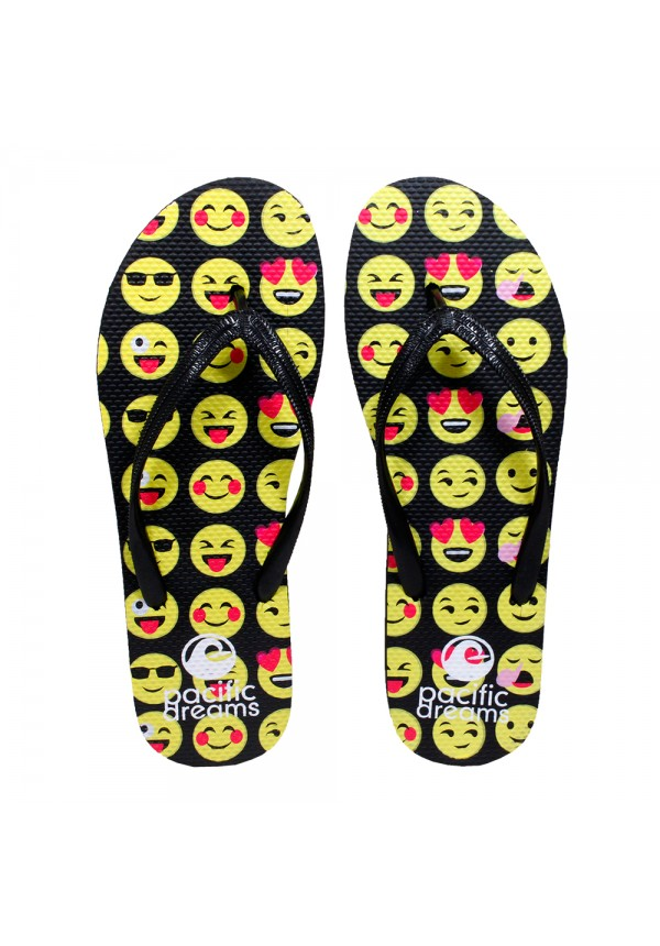 Smiley Face Flip-Flops