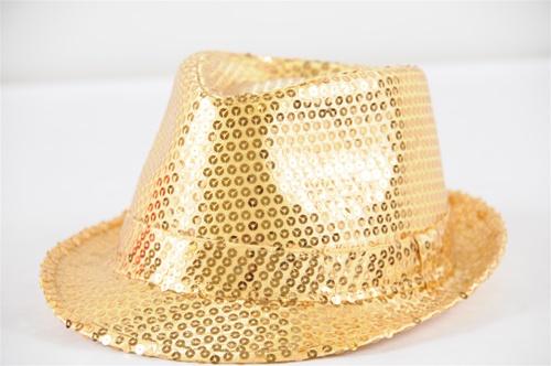 Wholesale Sequin Fedora Hats  c276eac9585