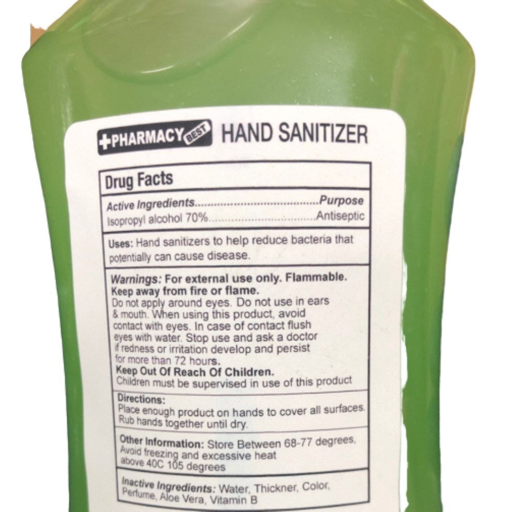 Hand Sanitizer Gel