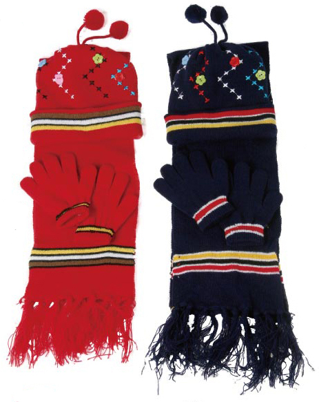 Perfect Kids Hat, Scarf and Gloves Set- Stay warm all the time, great ABG Accessories Girls' Pom Hat and Scarf with Mittens and Popover Gloves 4 Piece Set. by ABG Accessories. $ - $ $ 18 $ 19 99 Prime. FREE Shipping on eligible orders. Some sizes/colors are Prime eligible.