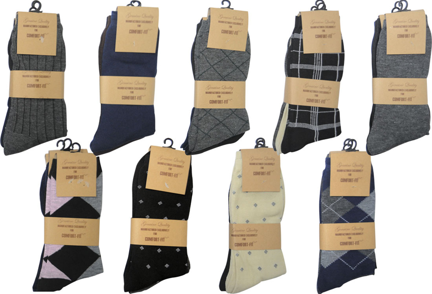 Wholesale DRESS Socks - Men's DRESS Socks - 360 Pairs
