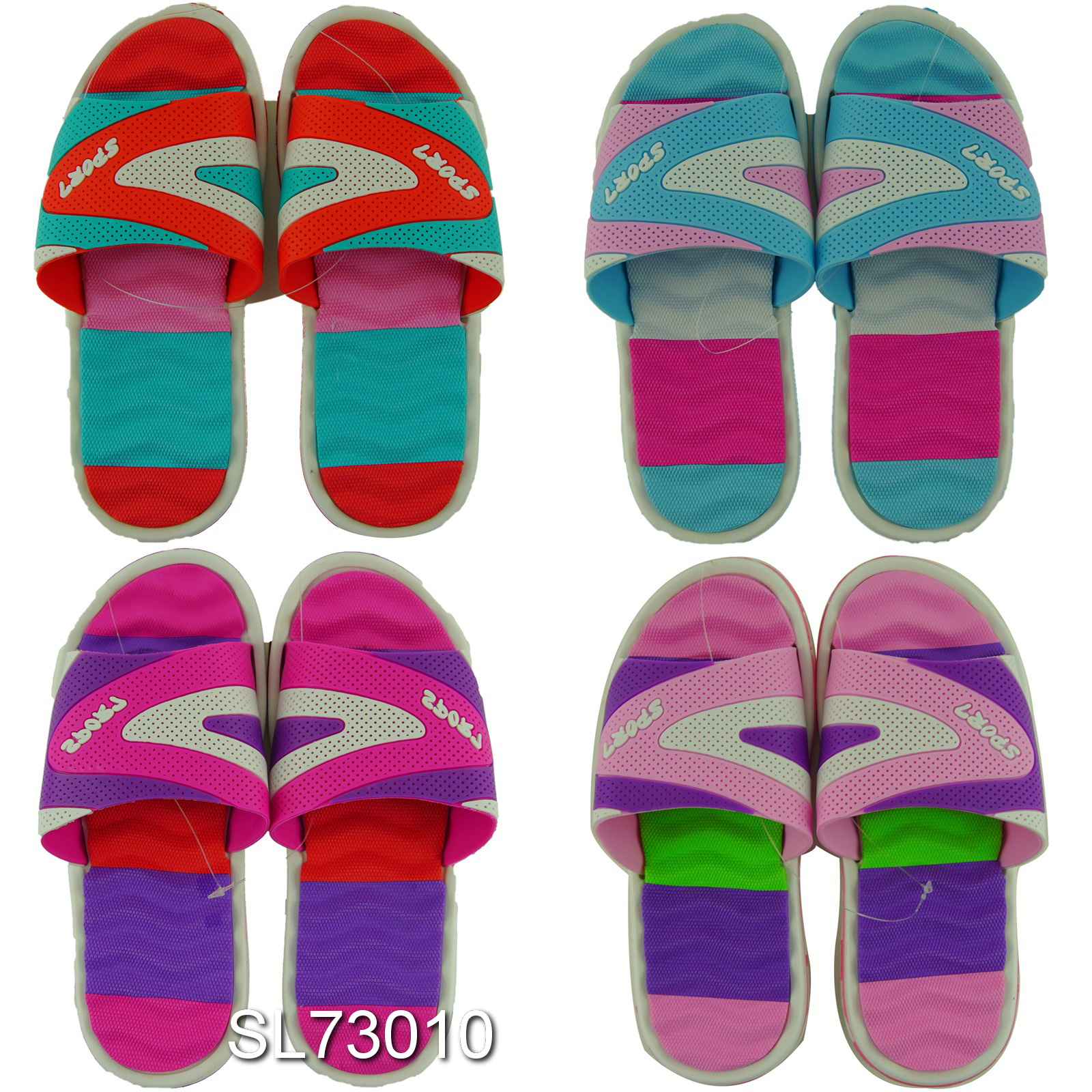 49d47a150bde58 Wholesale Sandals - Women s Sports Slippers - 60 Pairs