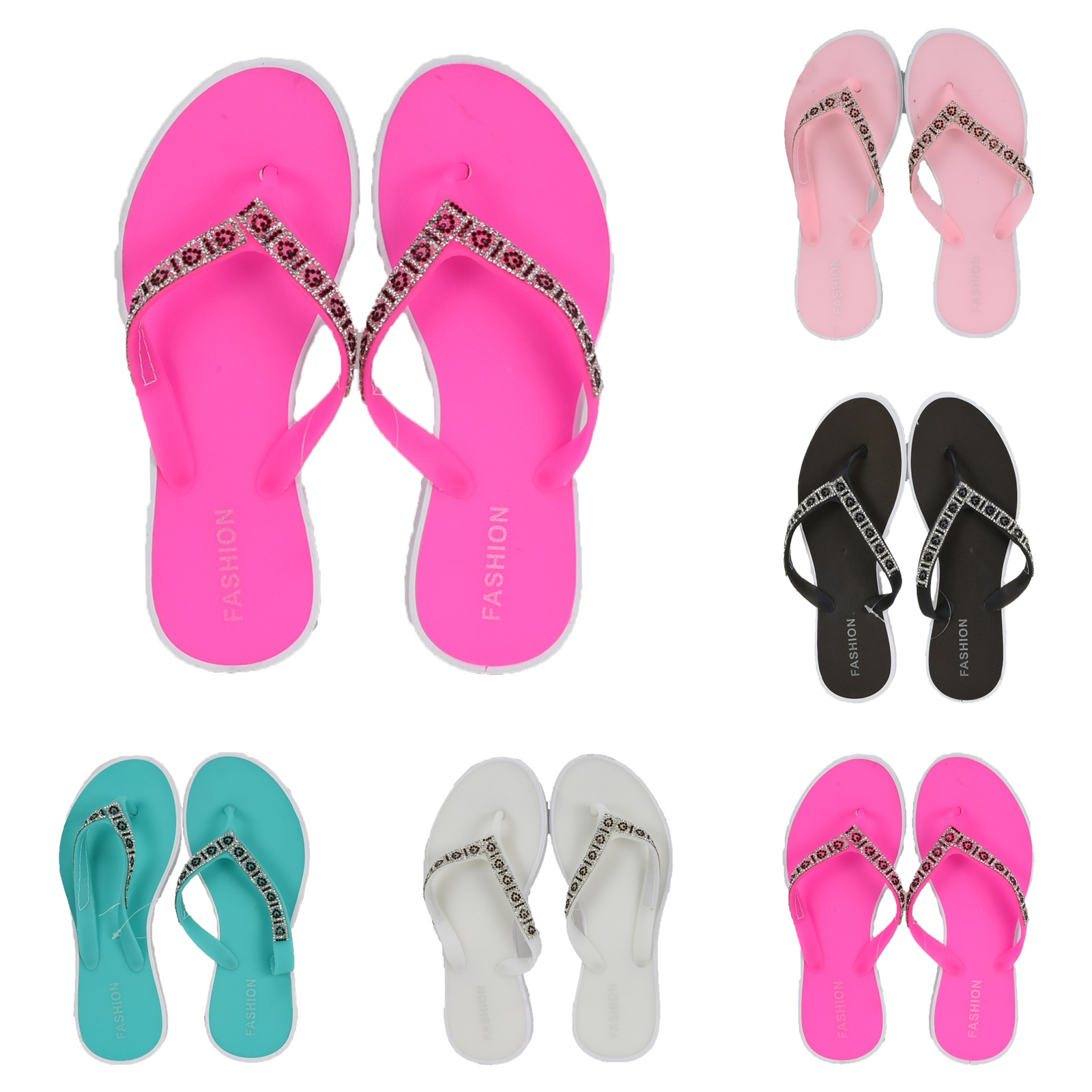 Wholesale Sandals - Women's FLIP FLOPS - 60 Pairs