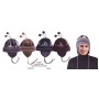 Wholesale Insulated Chenille | Ear Flap Hats - 12 DZ