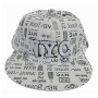 Wholesale Flat-Brim Fitted Hats - Fitted NYC Baseball Caps - 1 Doz