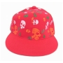 Wholesale Skull Fitted Hats - Skull Flat-Bill Cap - 1 Doz