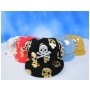 Wholesale Skull with Cross Bone Fitted Hats - 12 Doz