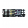 Wholesale Heavy Plaid Design Winter Scarf with Fringe Ends – 10 Dozen