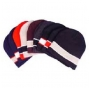 Wholesale Wide Stripe Beanie Hats