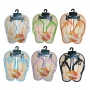 Wholesale Kid's Bamboo Sandals - Kid's Flip Flops - 72 Pairs