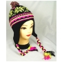 Wholesale Neon Bright Kids Earflap Hats - 1 Doz