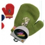 Wholesale Baby Cartoon Mittens - Childrens Animal Mitten - 24 Doz