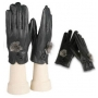 Wholesale Women's Fleece Lining Leather Gloves - 1 Doz