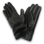 Wholesale Women's Faux Fur Long Wrist Leather Gloves | 1 Dz