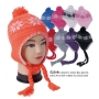 Wholesale Kid's Winter Hats - Toddlers Earflap Hats - 1 Doz