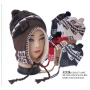 Wholesale Earflap Hats - Winter Ear-Flap Hat - 1 Doz