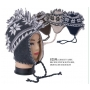 Wholesale Earflap Beanie Hats - Mohawk Ear-Flap Hat 1 Doz