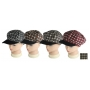 Wholesale Women's Insulated Newsboy Hat | Checkered Newsboys Cap - 12 DZ