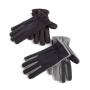Isotoner Black Oxford Heather Insulated Gloves
