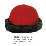 Wholesale Fleece Beanie with Faux Fur Trim - 12 Dz