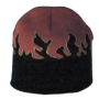 Wholesale Fire Beanie - Beanie With Flames - 20 Dozen Case