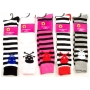 Wholesale Women's Spandex Knee High Socks - Skull Socks - 1 Doz