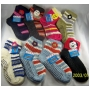 Wholesale Women's Sweater Socks With Grippers Flower Slipper Sock