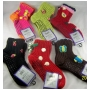 Wholesale Women's Fashion Slipper Socks With None Stick Grippers - Sock Slipper - 6 DZ