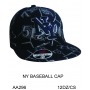 Wholesale Fitted Hats - NY Baseball Fitted Hats - 1 Doz