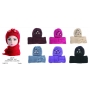 Wholesale Winter Sets - Women's Knit Hat & Scarf Set - 6 Doz