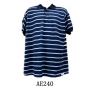 Wholesale Men's Polo Shirts - Stripe Polo Shirts - 1 Doz