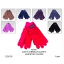 Wholesale Women's Thermal Insulated Chenille Gloves - 1 DZ