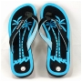 Wholesale Thong Flip Flops with Palm Tree Sole - 72 Pairs