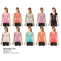 Wholesale Women's Rhinestone V-Neck Tee Shirts - 12 Doz