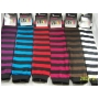 Wholesale Women's Spandex Stripe Legwarmers Case Of 5 Dozen