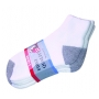 Wholesale Cotton Ankle Socks - Gray Heel Toe - 12 Pairs
