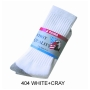 Wholesale Crew Socks – Gray Heel Toe Socks - 360 Pairs
