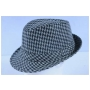 Wholesale Checker Fedora Hats - Checker Fedoras - 2 Doz