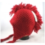 Wholesale Mohawk Crochet Earflap Hats - Mohawk Winter Hats - 12 Doz