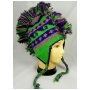 Wholesale Mohawk Hat - Crochet Knit Mohawk - 1 Doz
