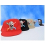 Wholesale Skull with Crossbones Fitted Hats - 12 Doz