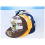 Wholesale Crown Fitted Hats - Flat-Bill Fitted Hat - 1 Doz