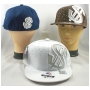 Wholesale Dollar Sign Fitted Hats with Glitter & Rhinestones - 2 Hats